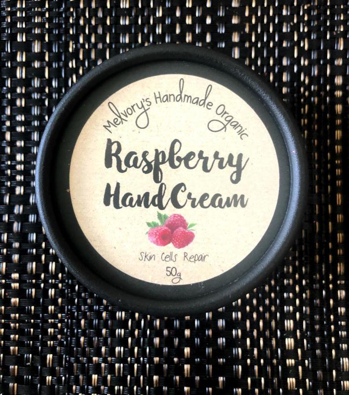 Melvory Skincare Raspberry Hand Cream