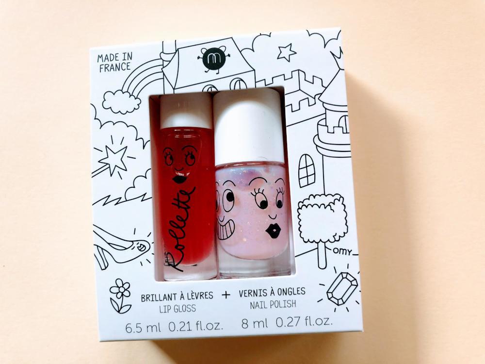 Nailmatic kids lip gloss and nail polish - Fairy Tales