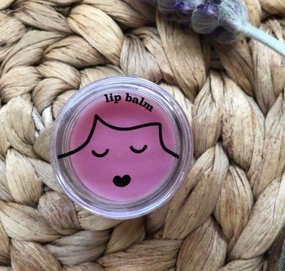 No Nasties Pink All Natural Lip Balm