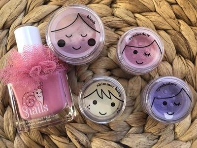 Play Makeup Bundle Eyeshadows x 2, Blush, Nail Polish and Shimmer Balm