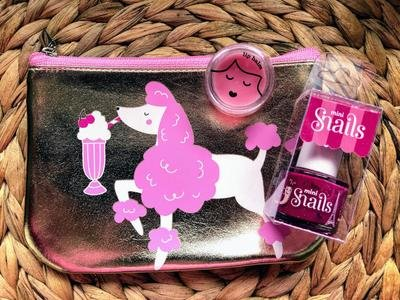 Play Makeup Gift Bag - Pink Poodle