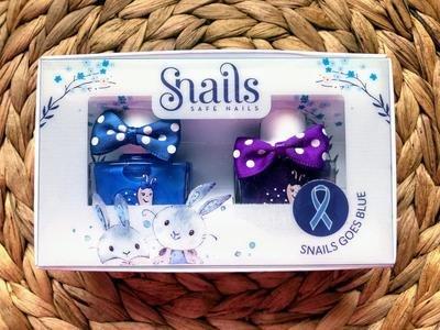Snails Safe 'N' Beautiful Rabbits 2 Pack Nail Polish