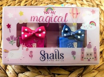 Snails Safe 'N' Beautiful You are Magical 2 Pack Nail Polish
