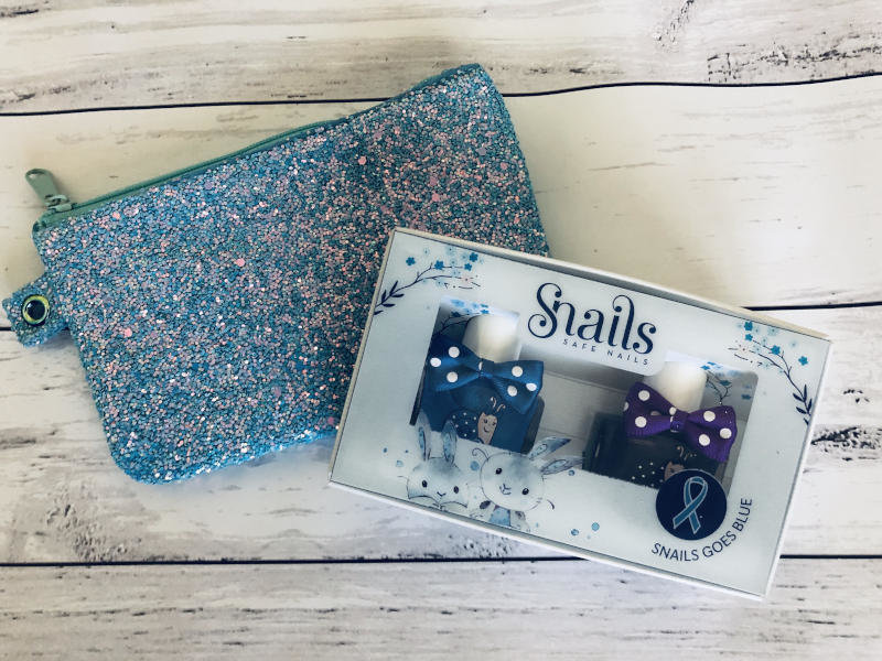 Nail Polish Sparkle Gift Bag - Snails 2 pack