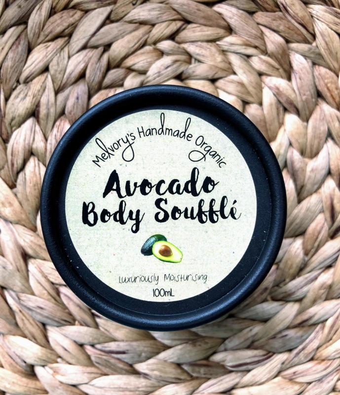 Melvory Skincare Organic Avocado Body Souffle