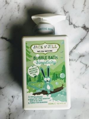 Jack n Jill Bubble Bath Simplicity