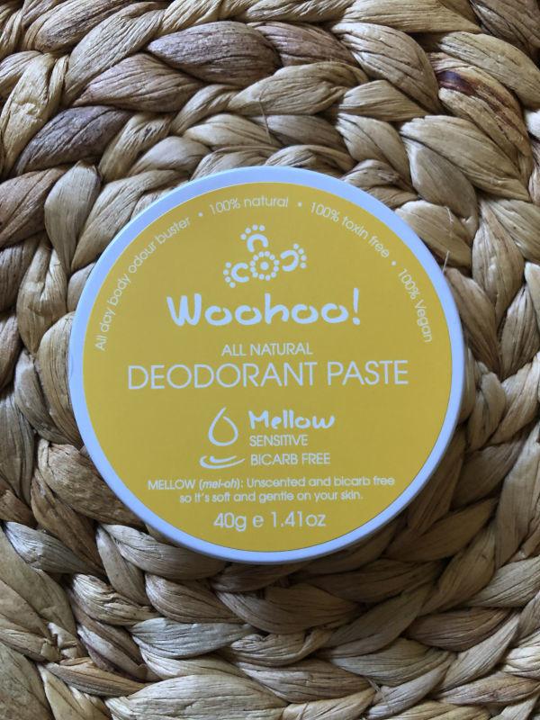 Woohoo All Natural Deodorant Paste -  Mellow Sensitive 40g