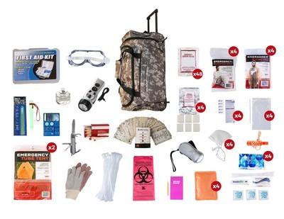 4 Person Elite Survival Kit (72+ Hours)