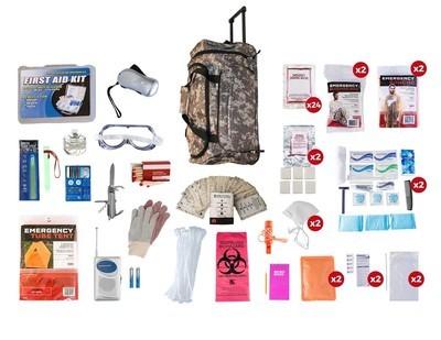2 Person Elite Survival Kit (72+ Hours)