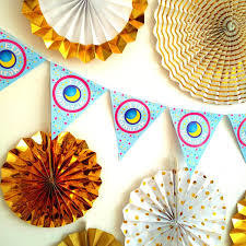 Eid Bunting (10 pieces on a strong thread)