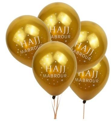 Golden Hajj Balloon x 1