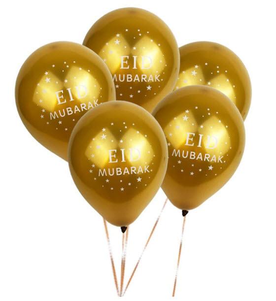 Golden Eid Balloon x 1