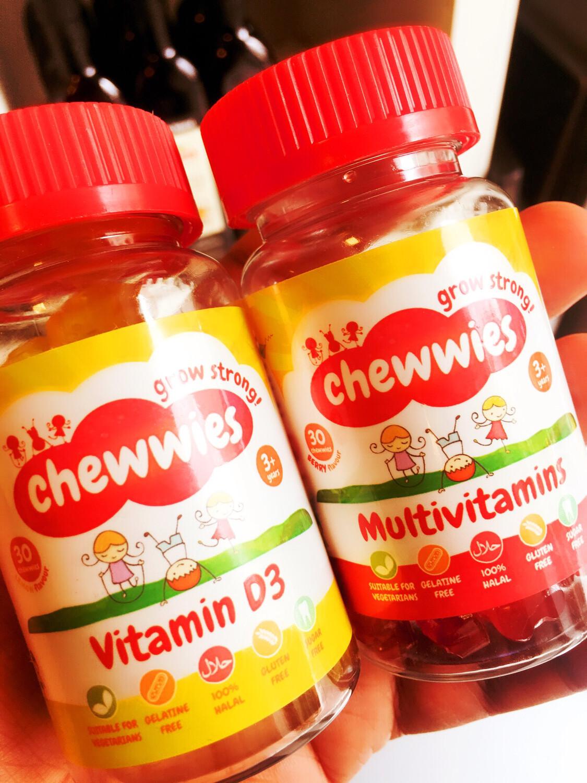 Vitaminer til barn - gelatinfri