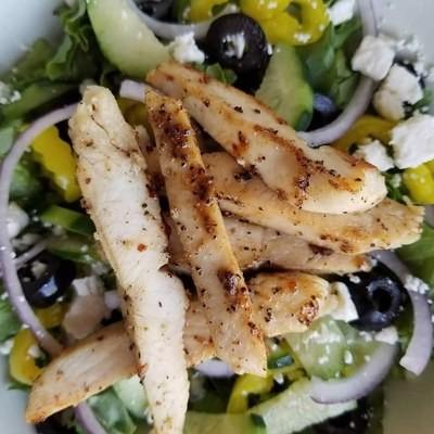 Salad special (3/19 Greek chicken salad)