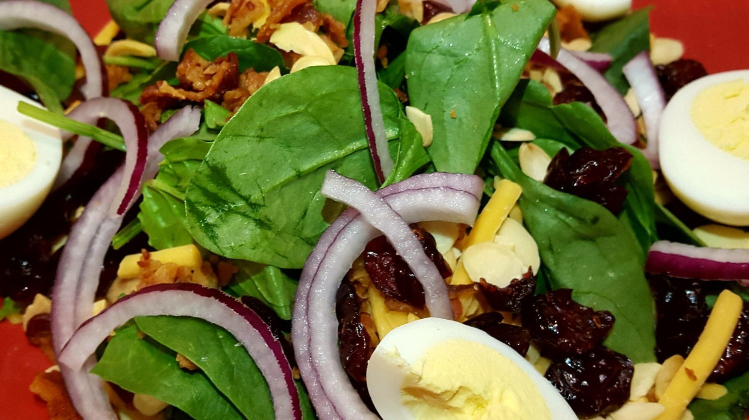 Super 7 Spinach Salad