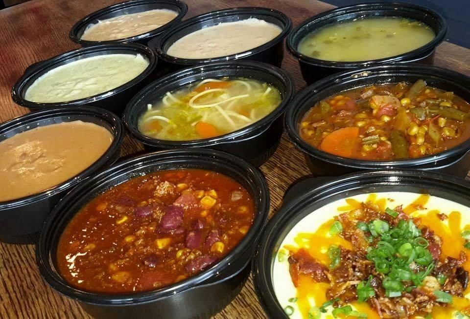 3 soup sampler