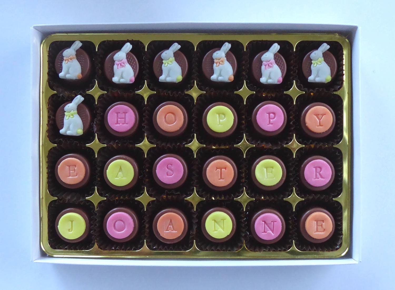 Hoppy Easter - personalised Easter Bunnies