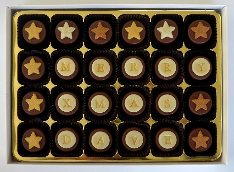 Personalised Caramel Stars
