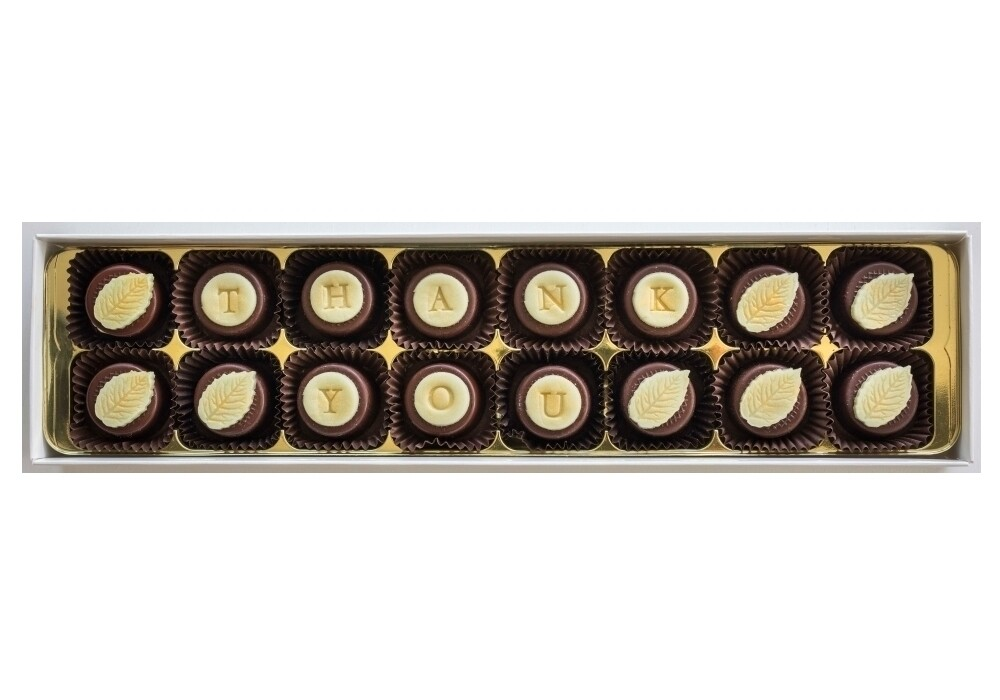 Personalised Classic Mint - fondant chocolates