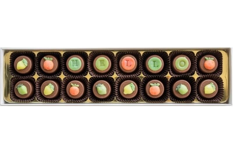 Personalised Citrus Trio - fondant chocolates
