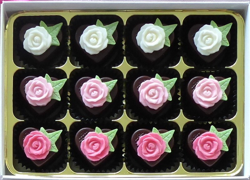 Roses & Ivy - choice of colours & fillings