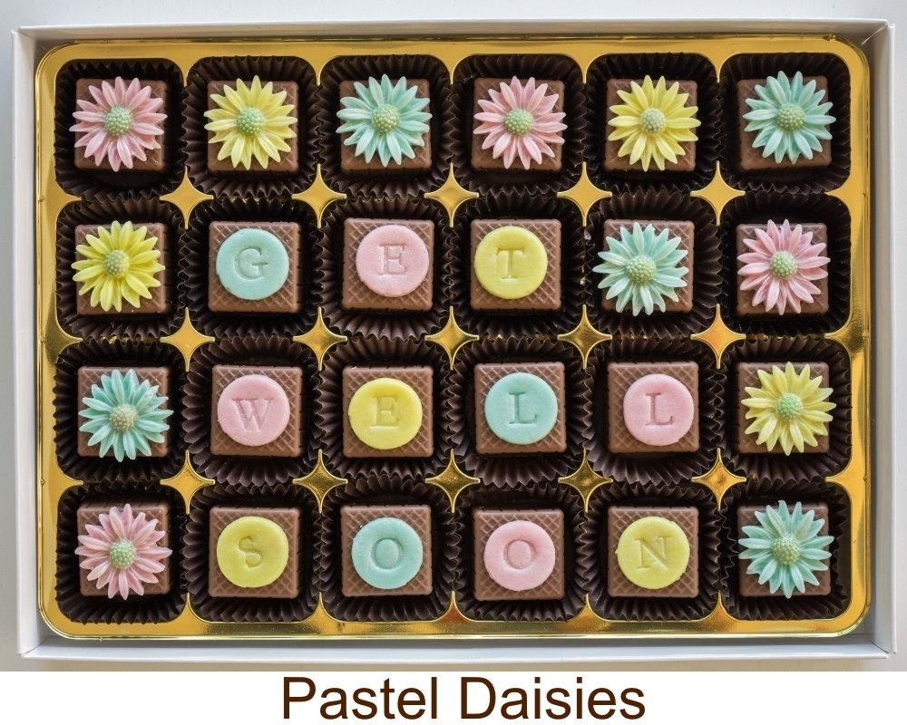 Add your message to Pastel Daisies.