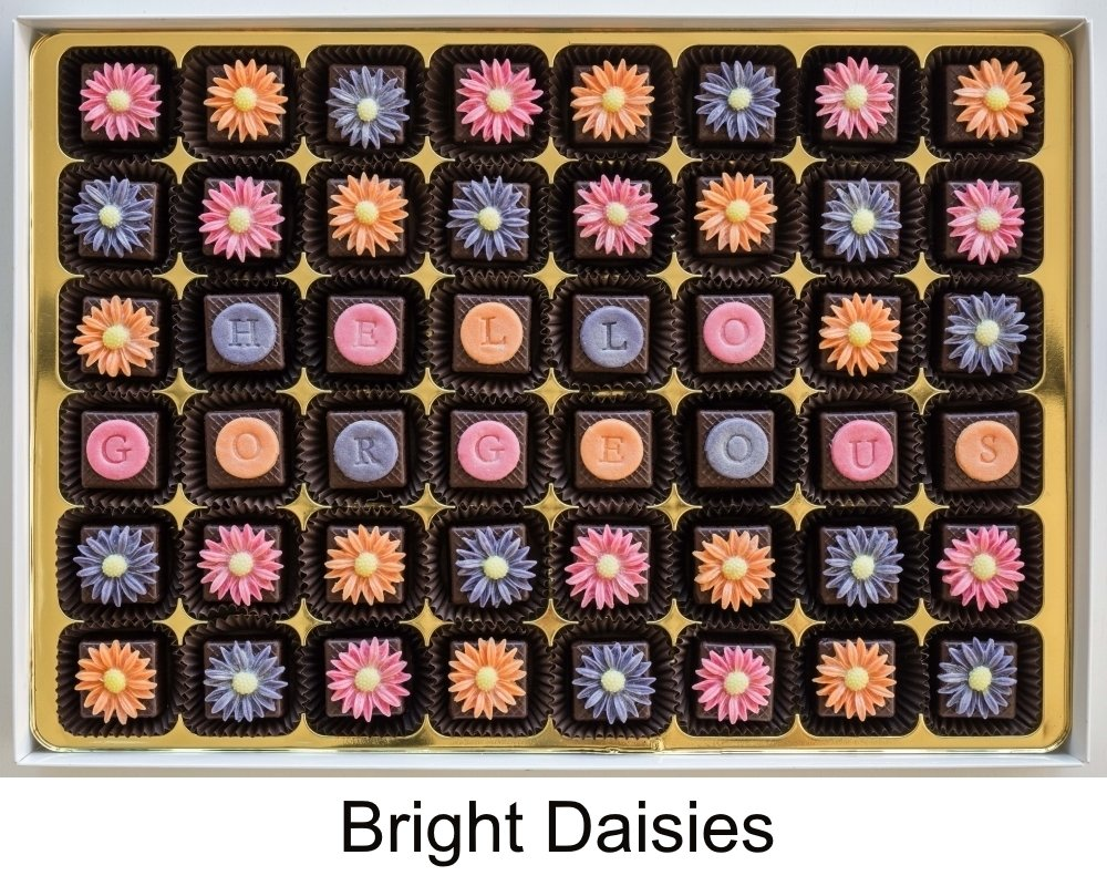 Add your message to Bright Daisies.
