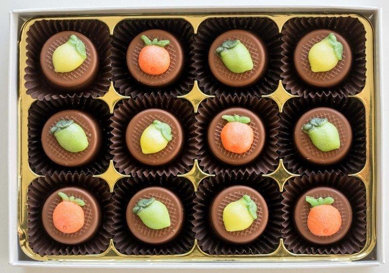 Citrus Trio - fondant chocolates