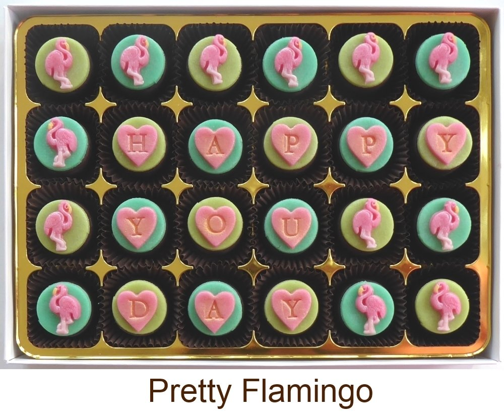 Add your message to Pretty Flamingo