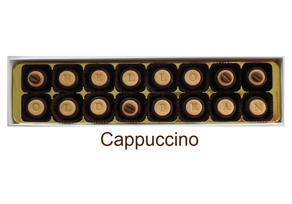 Add your message to Cappuccino.