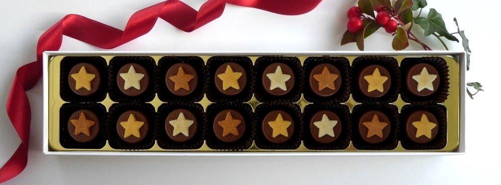 16 Caramel Stars