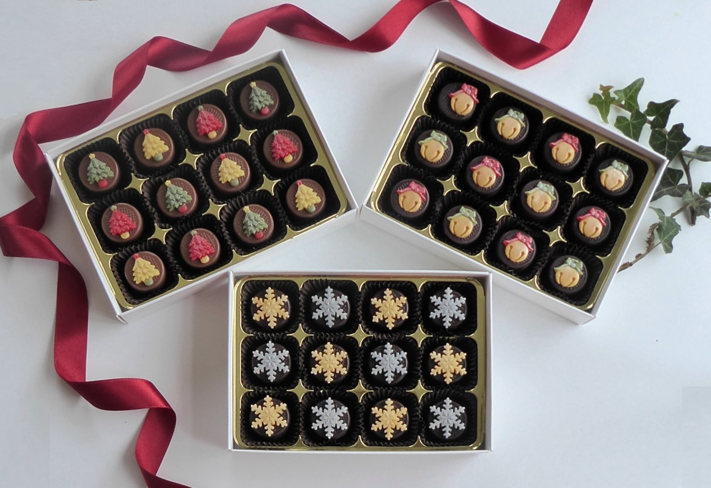 Classic Collection - 3 box set of Christmas chocolates