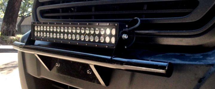 "Ford Transit Tubular 20"" Light Bar Mount 00018"