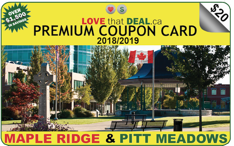 Premium Coupon Card - 3rd Edition