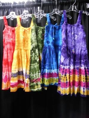 Girl's Tie Dye Sundress