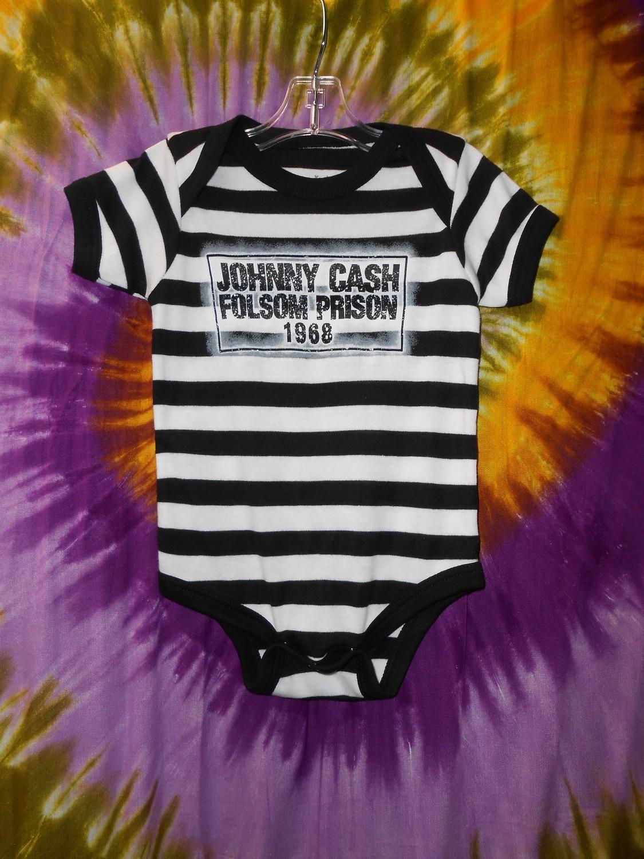 Folsom Prison Onesie (Johnny Cash)