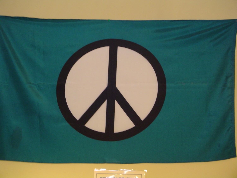Green Peace Flag