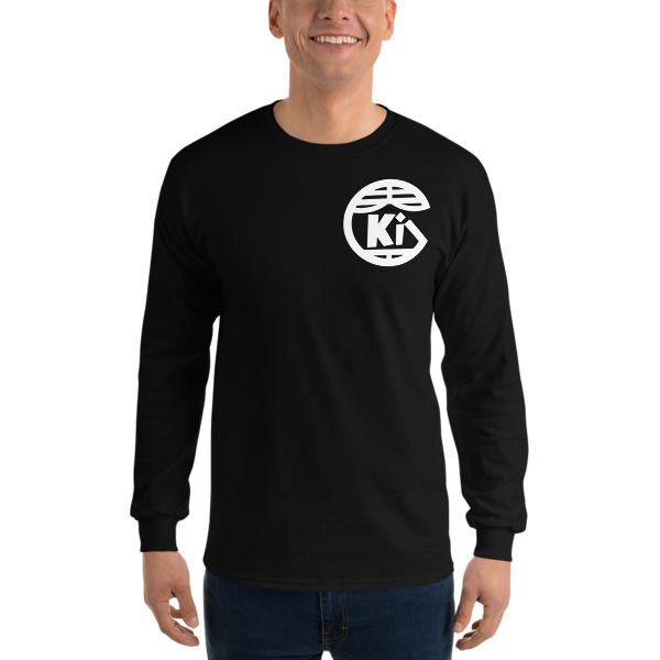 KiG Long Sleeve T-Shirt Front & Back Logo