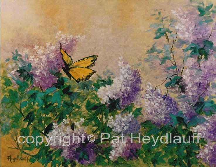 Spring Lilacs CNV135 / 20x16