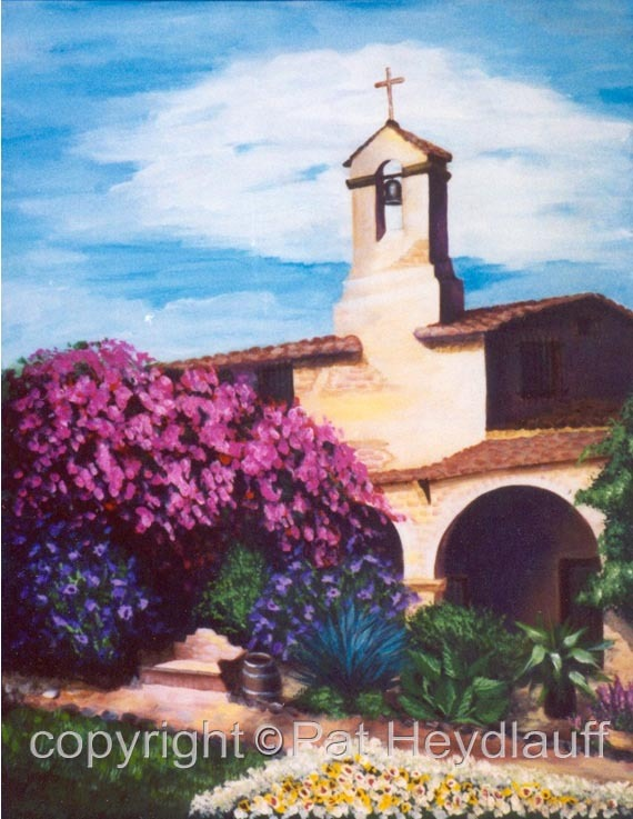 The Bell Tower CNV113 / 16x20
