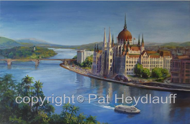 Budapest's Blue Danube CNV179 / 30x20