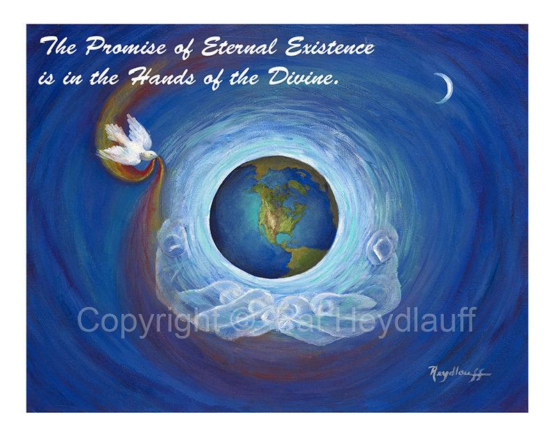 Eternal Presence |  11 x 8.5 FAP183