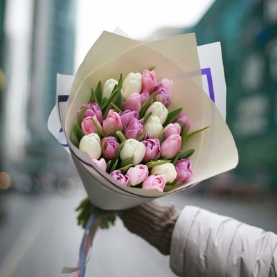 Букет тюльпанов ассорти