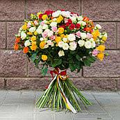 Букет кустовых роз