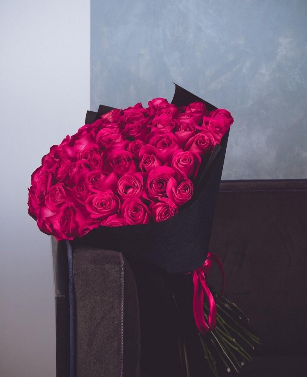 "51 роза ""Pink Fliyd"""