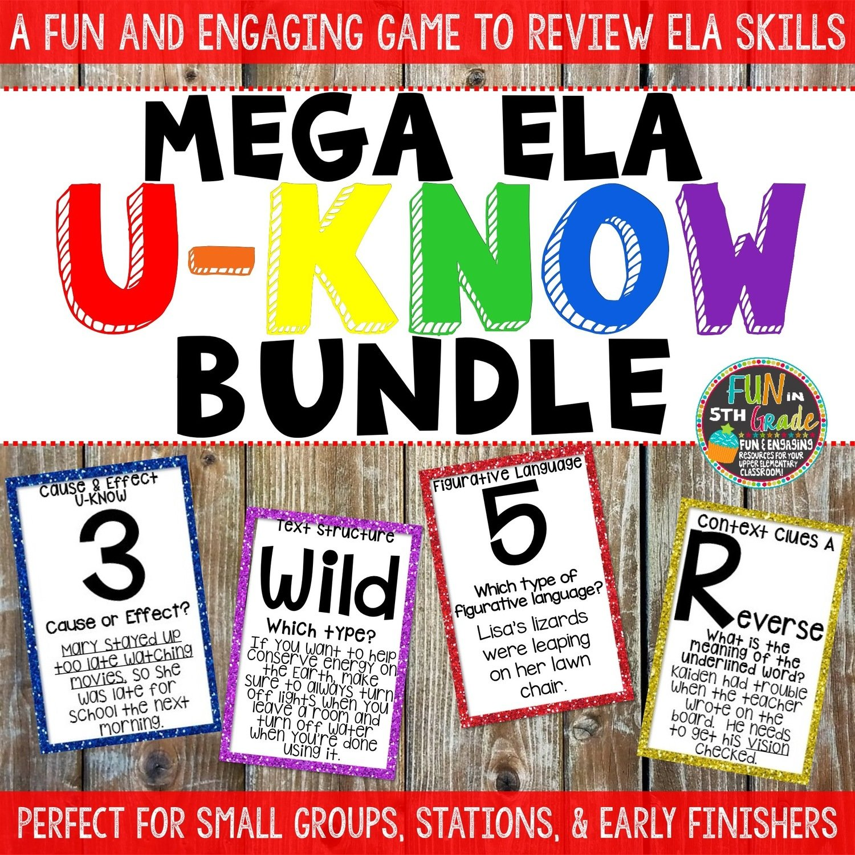 ELA U-Know Bundle