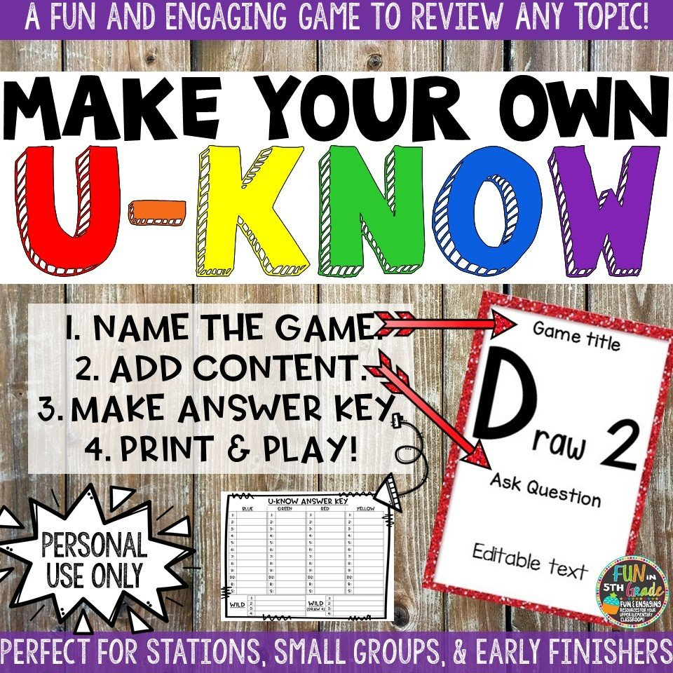 Make Your Own U-Know Game 00018