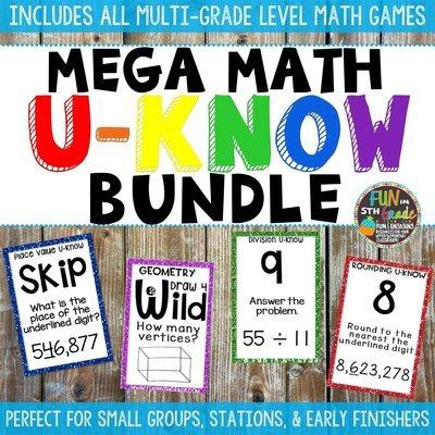 Math U-Know Bundle