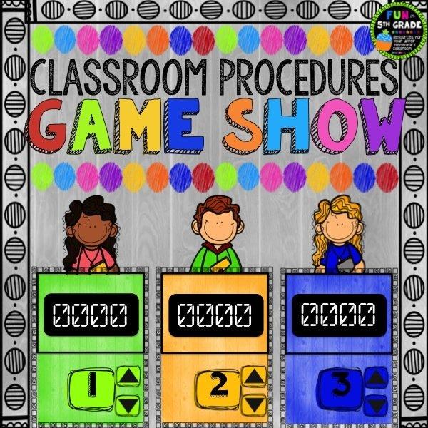 Classroom Procedures Game Show 00027