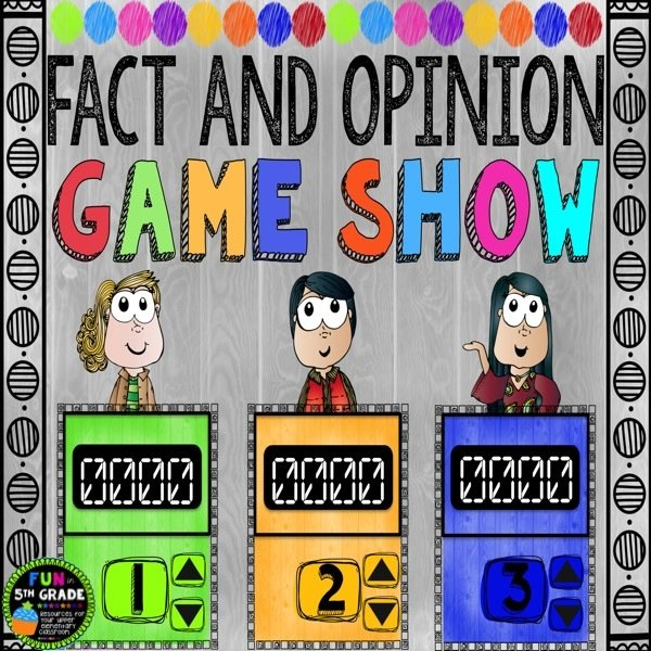 Fact and Opinion Game Show (PowerPoint Game) 00032